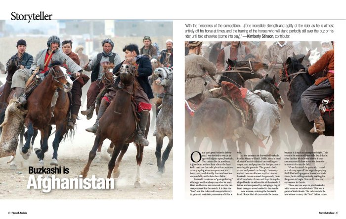 Buzkashi article